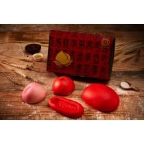 壽桃禮盒/紅龜禮盒